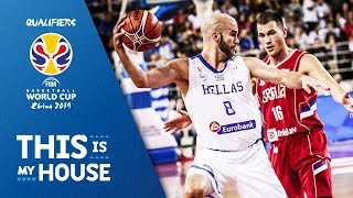 Greece v Serbia - Highlights - FIBA Basketball World Cup 2019 - European Qualifiers