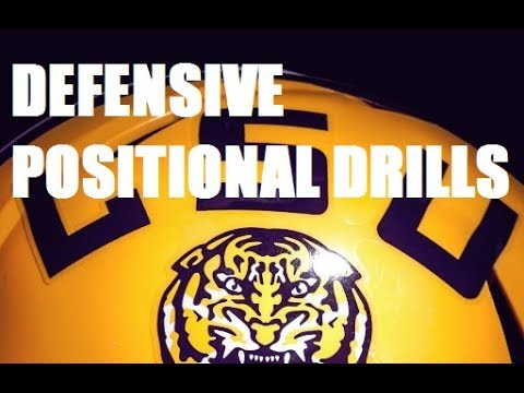 LSU Defensive Positional Drills (2003)