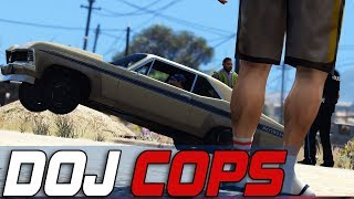 Dept. of Justice Cops #734 - Sealing His Fate