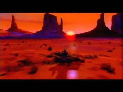 An American Tail: Fievel Goes West - Fievel and Wylie Burp watch the sunset