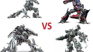 Transformers The Game(Mod): Blackout и Brawl против Optimus Prime и Jazz