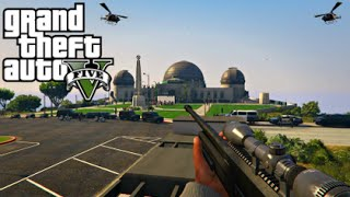 GTA 5 Mods - PRESIDENT ASSASSINATION MOD! (GTA 5 PC Mods Gameplay)
