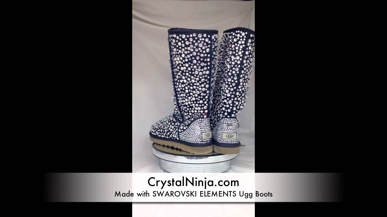 41f5ba069c3 Made with Swarovski Elements, Ugg Boots
