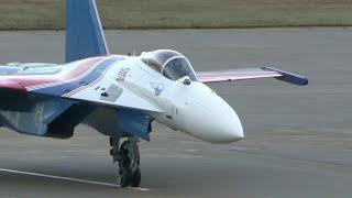 AndquotРусские витязиandquot получили четыре новейших истребителя Су-35С.