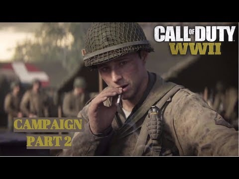Call of Duty WW2 Campaign Part 2!!