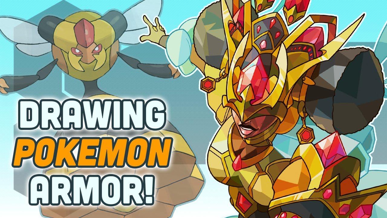 Drawing Pokemon Armor Sets - Part 10!