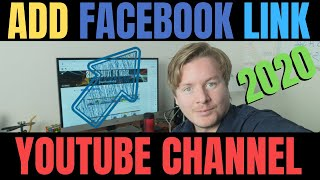 How To Add Facebook Link To YouTube Channel 2020