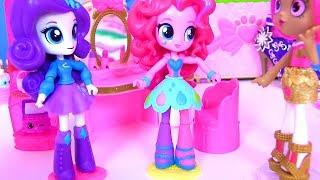 Мультфильм Май Литл Пони! Equestria Girls Rainbow Rocks Видео для детей! Мультик Шопкинс