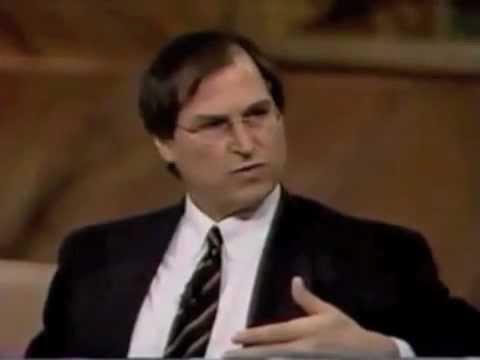 Steve Jobs interviewed just before returning to Apple