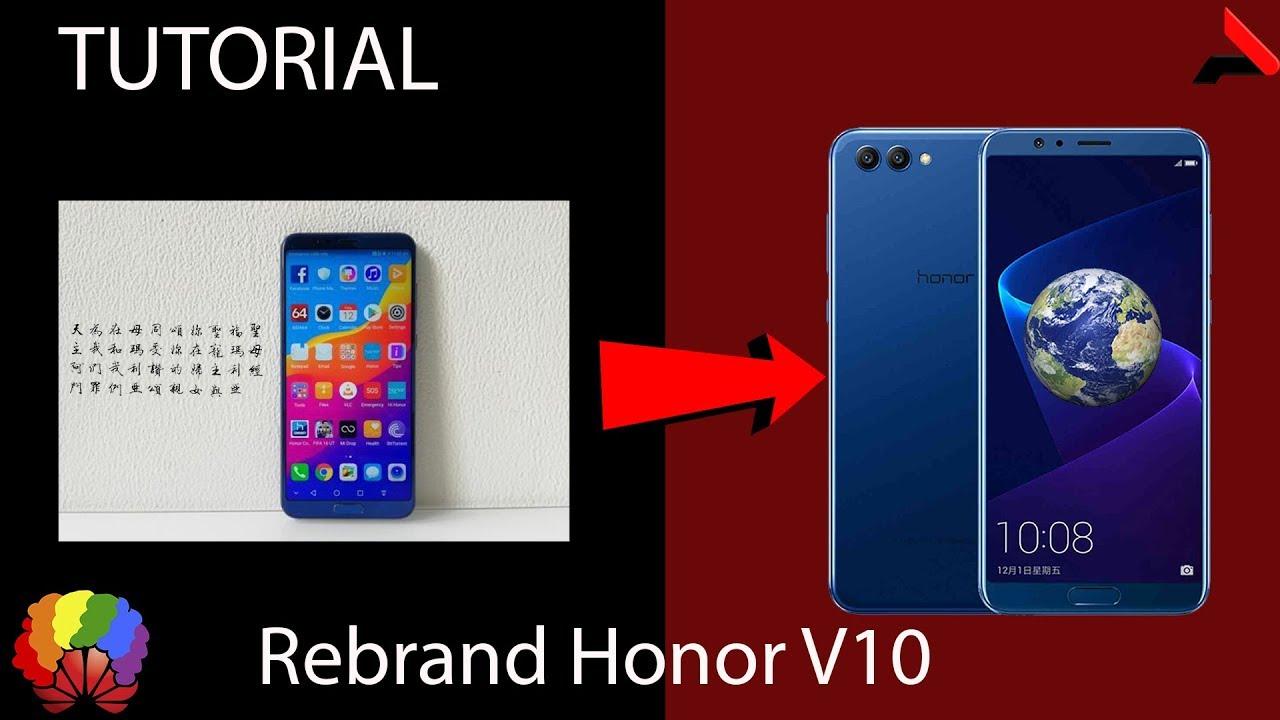[TUTORIAL] Rebrand Honor V10 PTBR FunkyHuawei