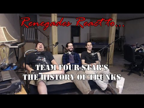 Renegades React to... Team Four Star's History of Trunks