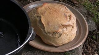 How-To Make Bread in Your Dutch Oven - Cowboy Campfire Cooking