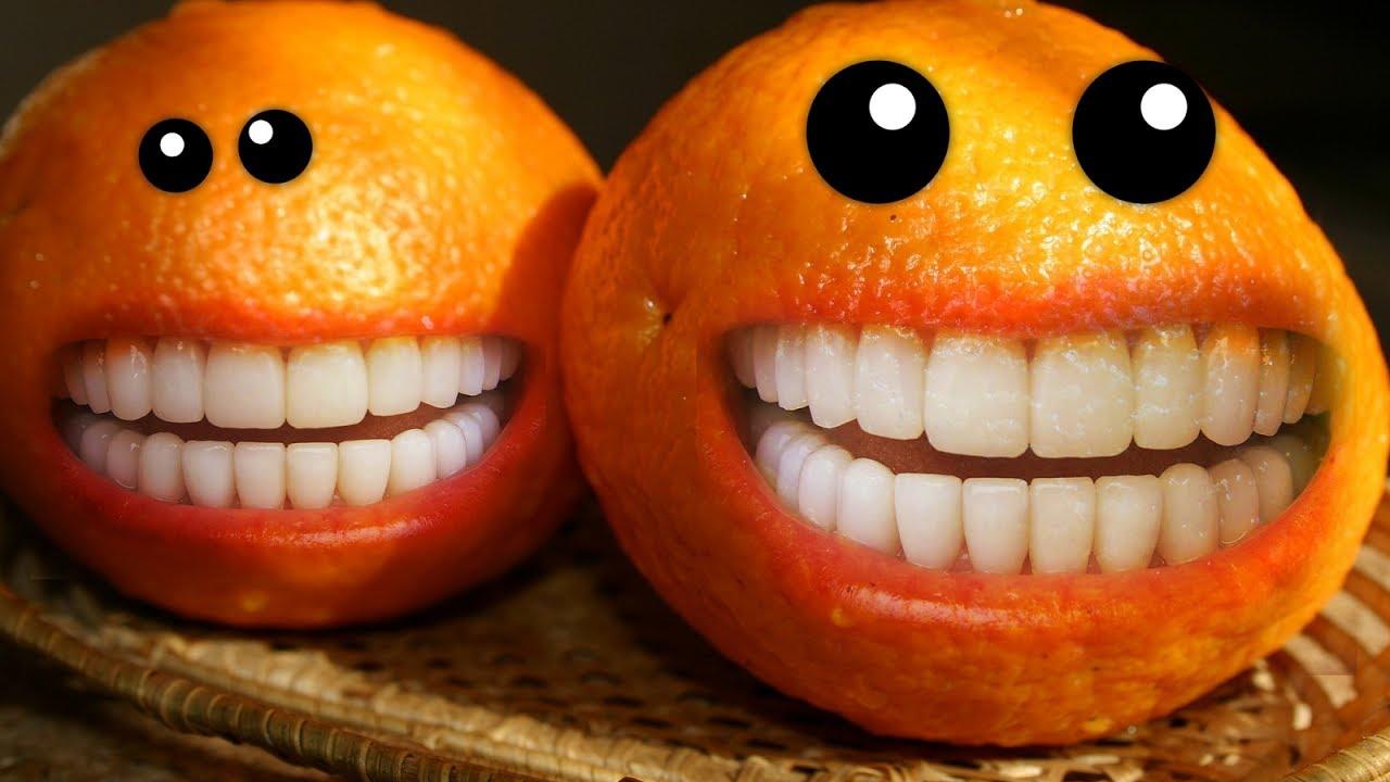 Прикольные картинки апельсинами