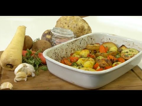 Gourmet Today Season 1 Episode 17 (root vegetables)