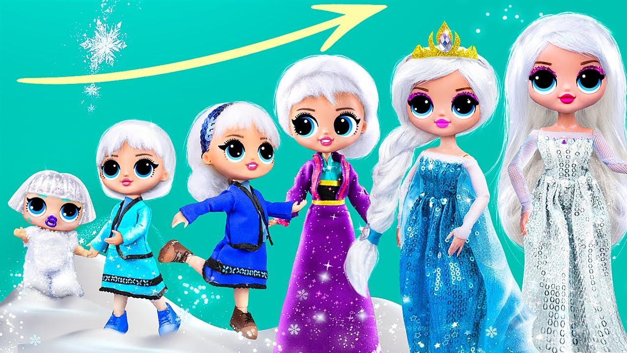 Elsa y Anna Están Creciendo / 11 DIYs de Frozen