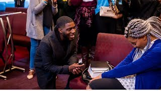 SWEETEST SURPRISE PROPOSAL EVER ! || PREACHING INTO MY PROPOSAL| Yinka & Crystal