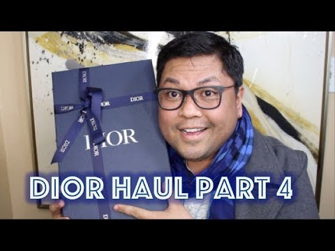 Dior SS19 Unboxing #4 | Kim Jones | Kaws | DocLUXURY