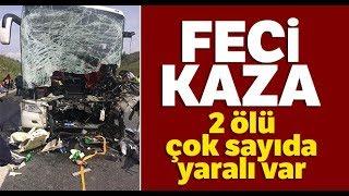 İstanbul-Bursa-İzmir Otoyolunda Kaza! Ölü ve Yaralılar Var!