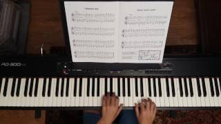 Hänschen klein, ging allein -   Kinderlieder am Klavier