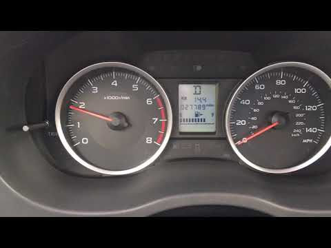 2016 Subaru Forester 2.5 Premium 0-60 MPH