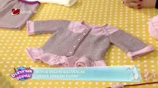 Gambar cover Bebek hırkası yapımı - Derya Baykal - Deryanın Dünyası