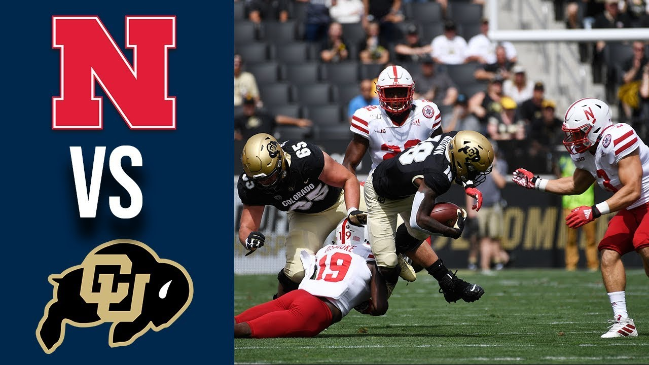 Week 2 2019 College Football #24 Nebraska vs Colorado Full Game Highlights