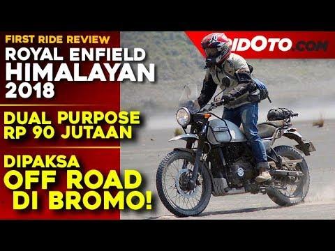 Royal Enfield Himalayan 2018 l First Ride Review l GridOto