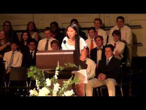 Stephanie's Salutatorian Address at Randolph School