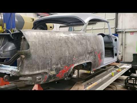 For Chevy Bel Air 55 Sherman Passenger Side Quarter Panel Rear Half Patch