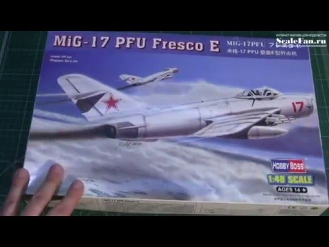 Hobby Boss MIG-17 PFU Fresco E сборная модель самолета