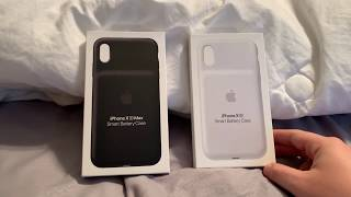 iPhone xs Max and iPhone xr smart battery case unboxing and review!