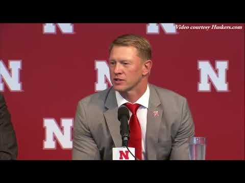 Scott Frost's introductory news conference as new Husker football coach