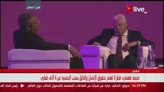 محمد فهمي: الجزيرة منبر للمتطرفين ومنهم يوسف القرضاوي