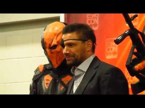 Manu Bennett Surprises  at 2015 Salt Lake Comic World Record