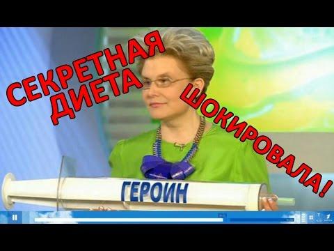Диета Елены Малышевой «10 дней»: меню, рекомендации
