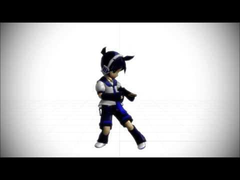 MMD Chibi Len Elektrika Test Video HD