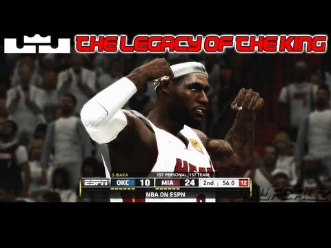 NBA 2k13 LeBron James MVP Mix - The Legacy Of The King