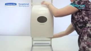 видео диспенсер для рулонных бумажных полотенец