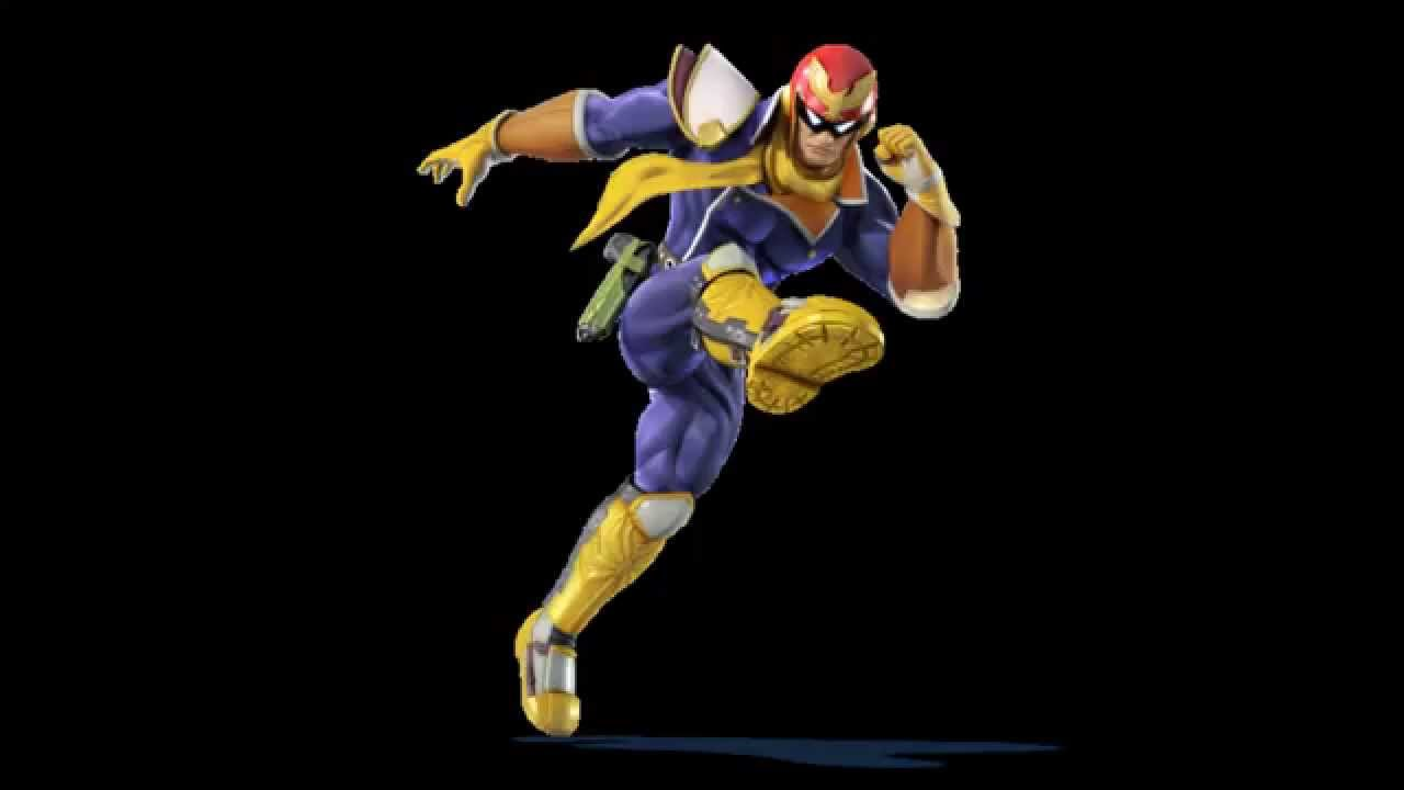 Super Smash Bros. Wii U - Here Comes Captain Falcon! (Big ...