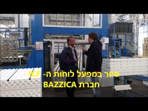 ביקור באיטליה במפעל חברת BAZZICA - המפעל שמייצר עבורנו את לוחות ה- ICF