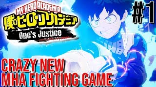 THIS GAME IS ACTUALLY AMAZING! ACTUAL HYPE! | My Hero Academia: One