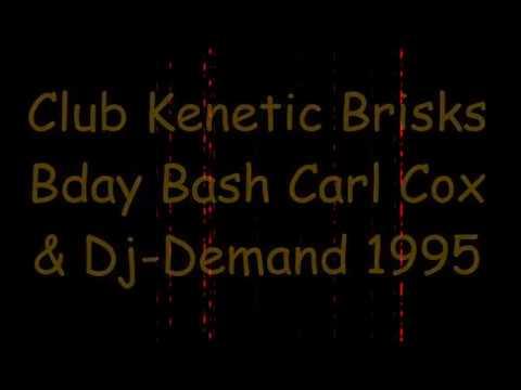 club kenetic brisks bday bash carl cox and dj-demand leisure bowl stoke 1995