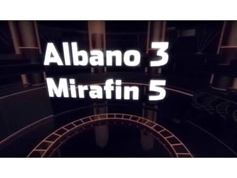 Highlights Albano Mirafin 3 a 5