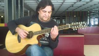 Wellington - 12 String Acoustic Slide Guitar Solo - Helmut Bickel