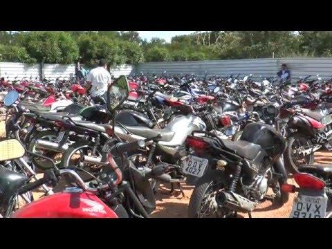 Detran-PI abre visitação para leilão de mais de 200 veículos em Teresina