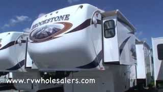 2011 Brookstone 345sa Fifth Wheel Camper At Rvwholesalers.com 304225 - Saddlebrook