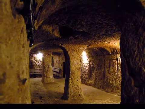 Underground Cities. Cappadocia. Turkey