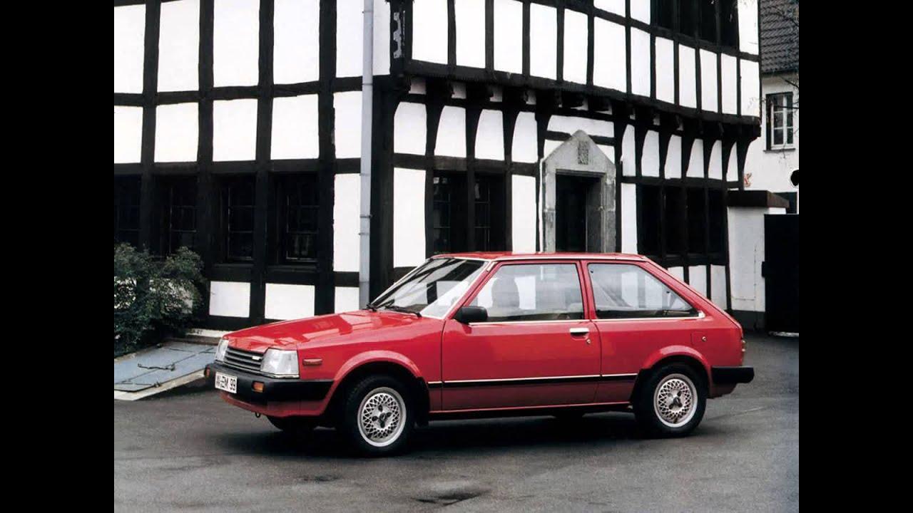 mazda 323 ii bd hatchback 3 doors exterior & interior - youtube