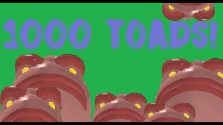 SUMMONING OVER 1000 TOADS! | ROBLOX BEYOND NRPG