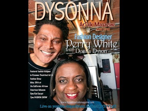 Donna Dyson in a Conversation with Fashion Designer Perry White